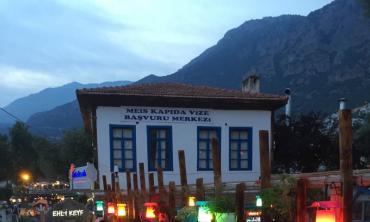 A break in Kaş