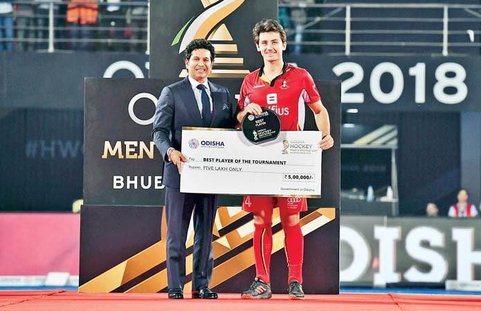 Belgium big winners at FIH awards ceremony