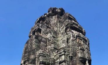 In the land of Angkor kings