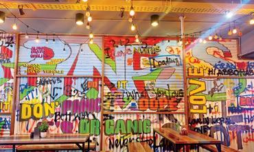 When street art meets desi comfort food!