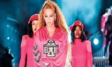 Beyonce claims music's most influential stage for black culture