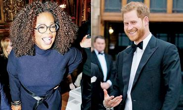 Prince Harry and Oprah Winfrey team up for Apple TV's new crown jewel