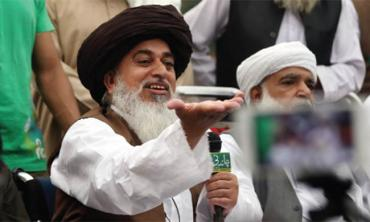Between the government and TLP