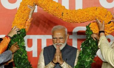 Modi is back