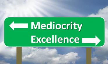 The shamelessness of mediocrity