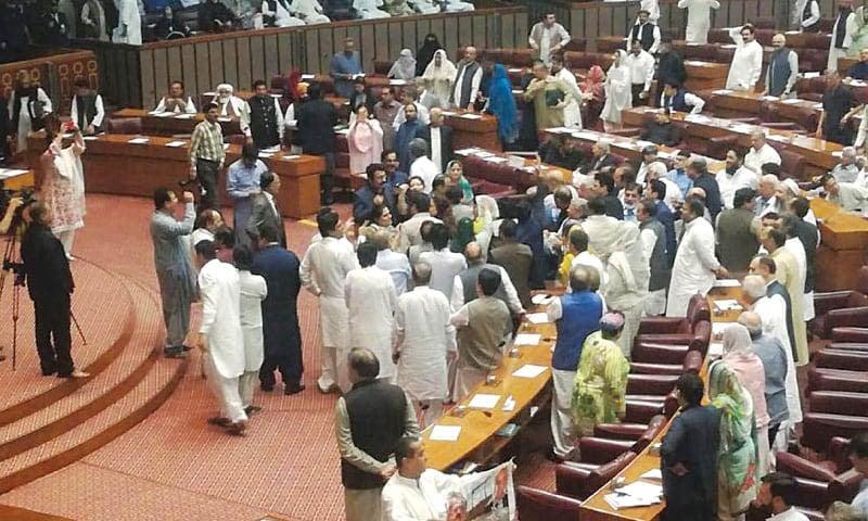 A legislature less bothered