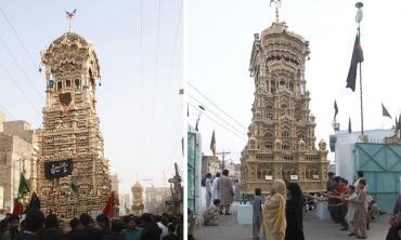 Towering tributes