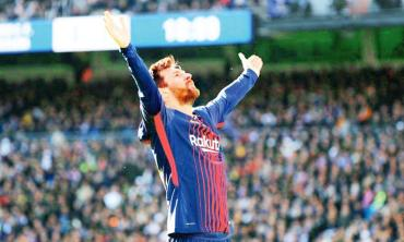 Messi, world's best again