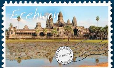 Behind Angkor Wat