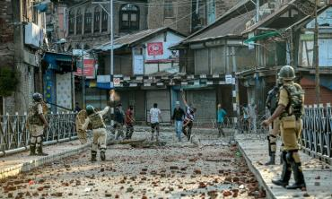 Time stands still in occupied Kashmir