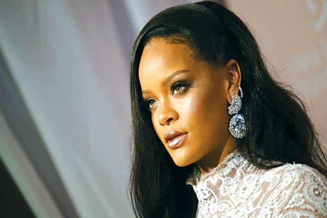 Rihanna calls President Trump