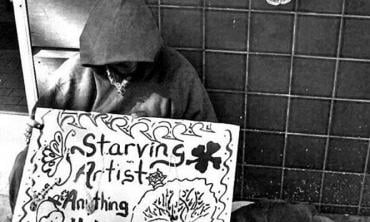 Artists are not beggars