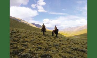 The last Kirghiz khan in Gilgit