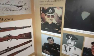 Sindh police history on display