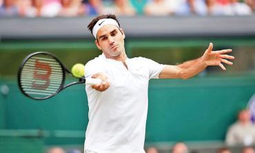 Federer's tough balancing act
