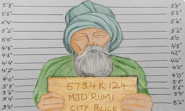 Rumi under arrest