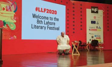 The 'literature' in a literary festival