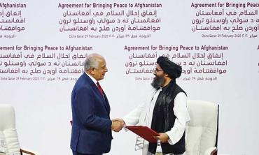 A 'coronised' Afghan peace process