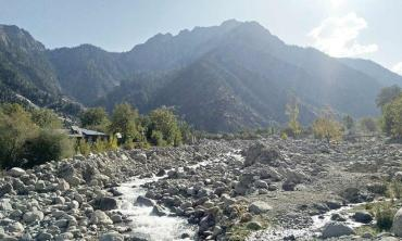 In high mountains of Hindu Kush