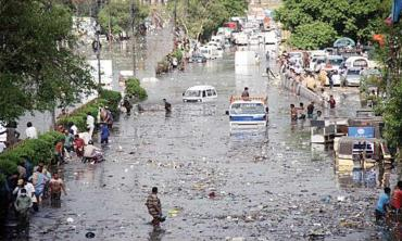 When it rains in Karachi