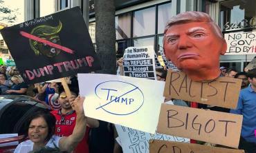 Desperate Trump