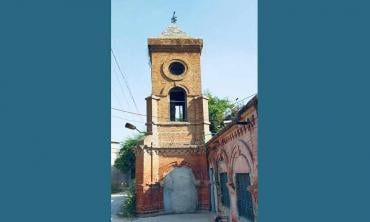The first clock tower of Lyallpur