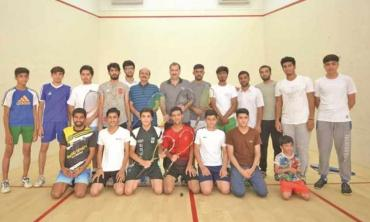 These kids have both talent and motivation:  Jansher Khan