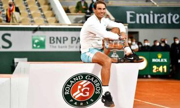 Nadal brings down curtain on unique title in the right spirit