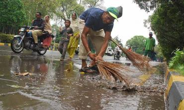 Safety of sanitation workers
