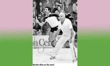 Hashim Khan — Pioneer of Pakistan's squash dynasty