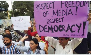 Journalists pay heavy price for press freedom