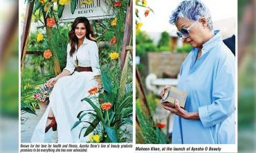 Ayesha O for organic beauty