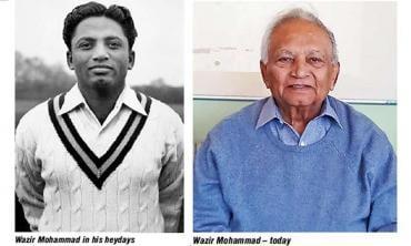 Wazir Mohammad — Pakistan's oldest living Test cricketer