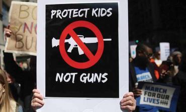 Political rhetoric and gun violence in US