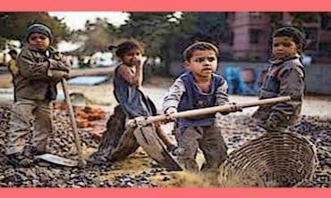 The plight of  working children