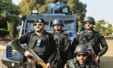 Policing the new KP districts