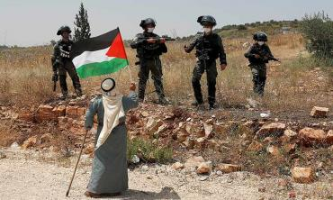 Palestine cleaved to the advantage of Zionists