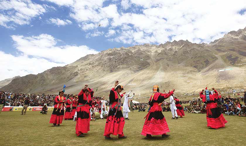 The otherwise silent Shandur comes alive with fascinating folk music and dances.