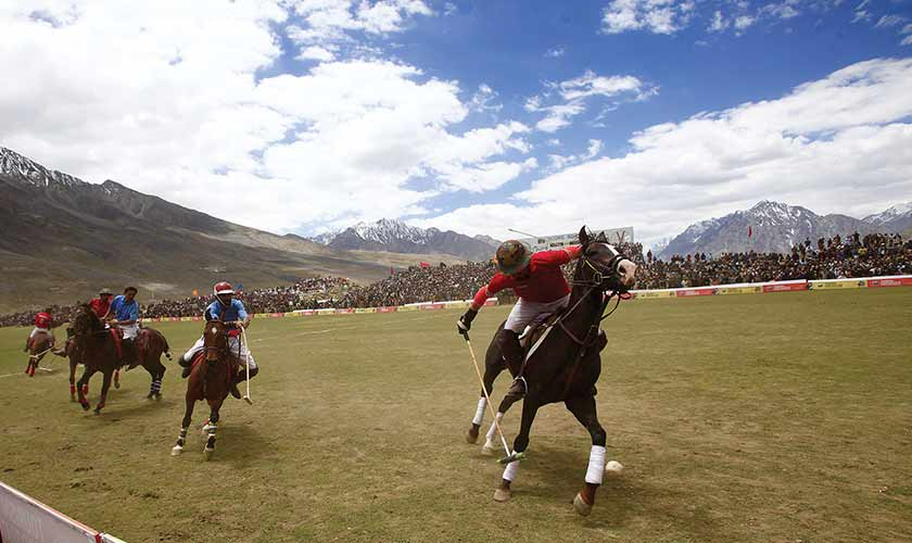 Shandur Polo Festival is one of the most famous festivals held in Pakistan. All photos by the author.