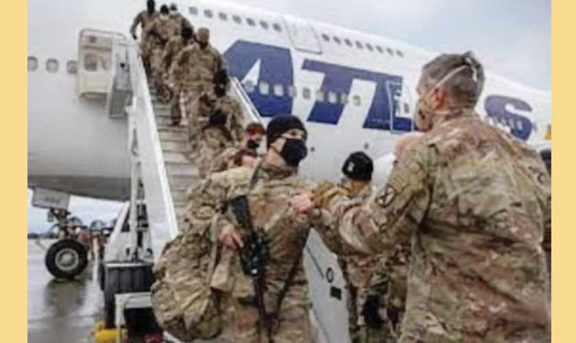 US troops are preparing to withdraw from Afghanistan by September 2021.