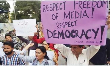 Muzzling dissent?