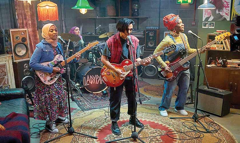 The saga of a halal punk-rock band