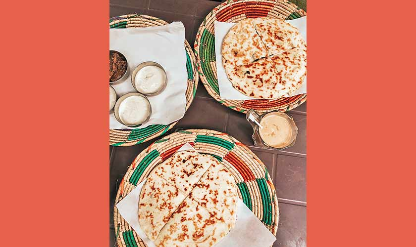 What A Paratha! brings you a variety of filled parathas. It's a must-try place for breakfast. The chicken cheese tikka and Nutella parathas are especially exceptional.