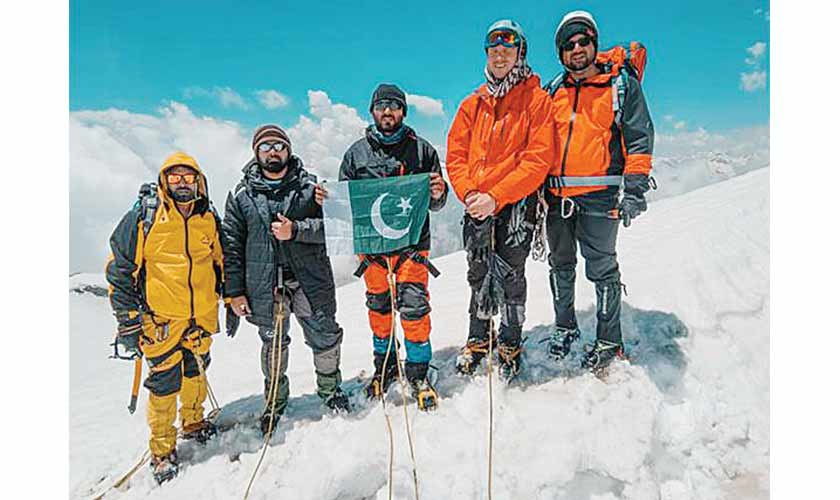 The summit. (Members of Greater Himalayan society)