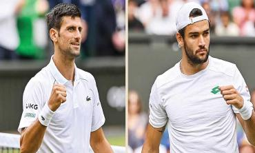 Djokovic destroys the competition