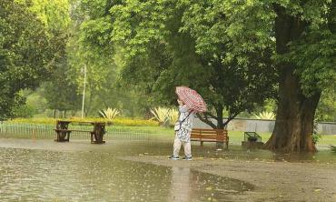 A delayed monsoon