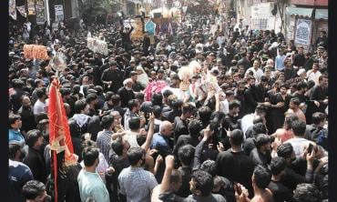 A glance at the Ashura processions