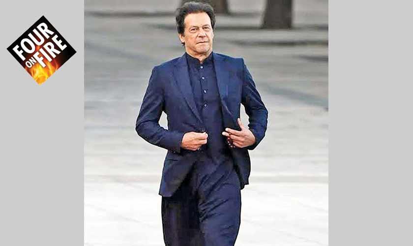 Well-dressed Pakistani politicians
