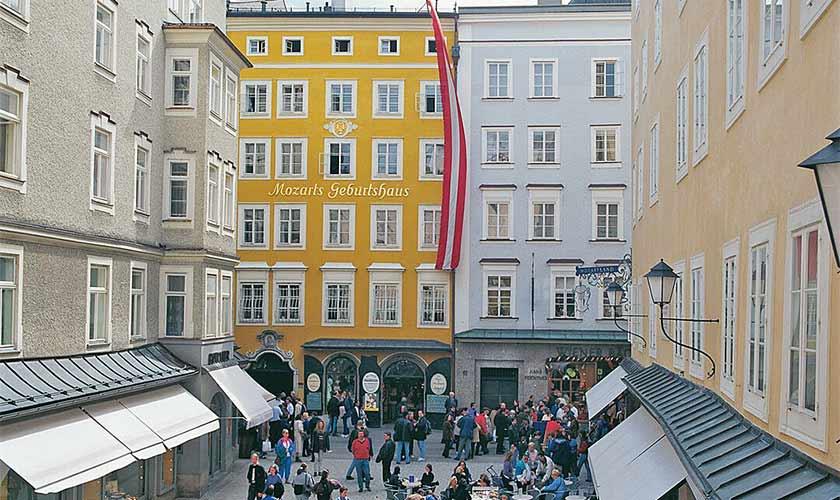 Mozarts birthplace.