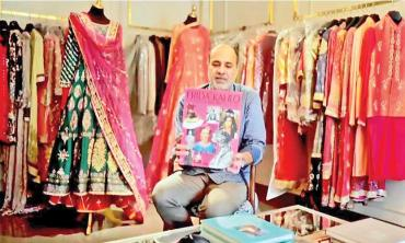 NEWS OF THE WEEK! Deepak Perwani featured in Frida Kahlo: Fashion As The Art of Being